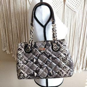 Kate Spade Maryanne Gold Coast Snake Print Bag